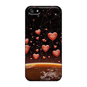 Forever Collectibles Hearts All World Valentine Day Hard Snap-on Iphone 5/5s Case