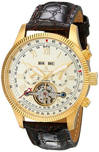 Burgmeister Men's BM330-275 Analog Display Automatic Self Wind Brown Watch