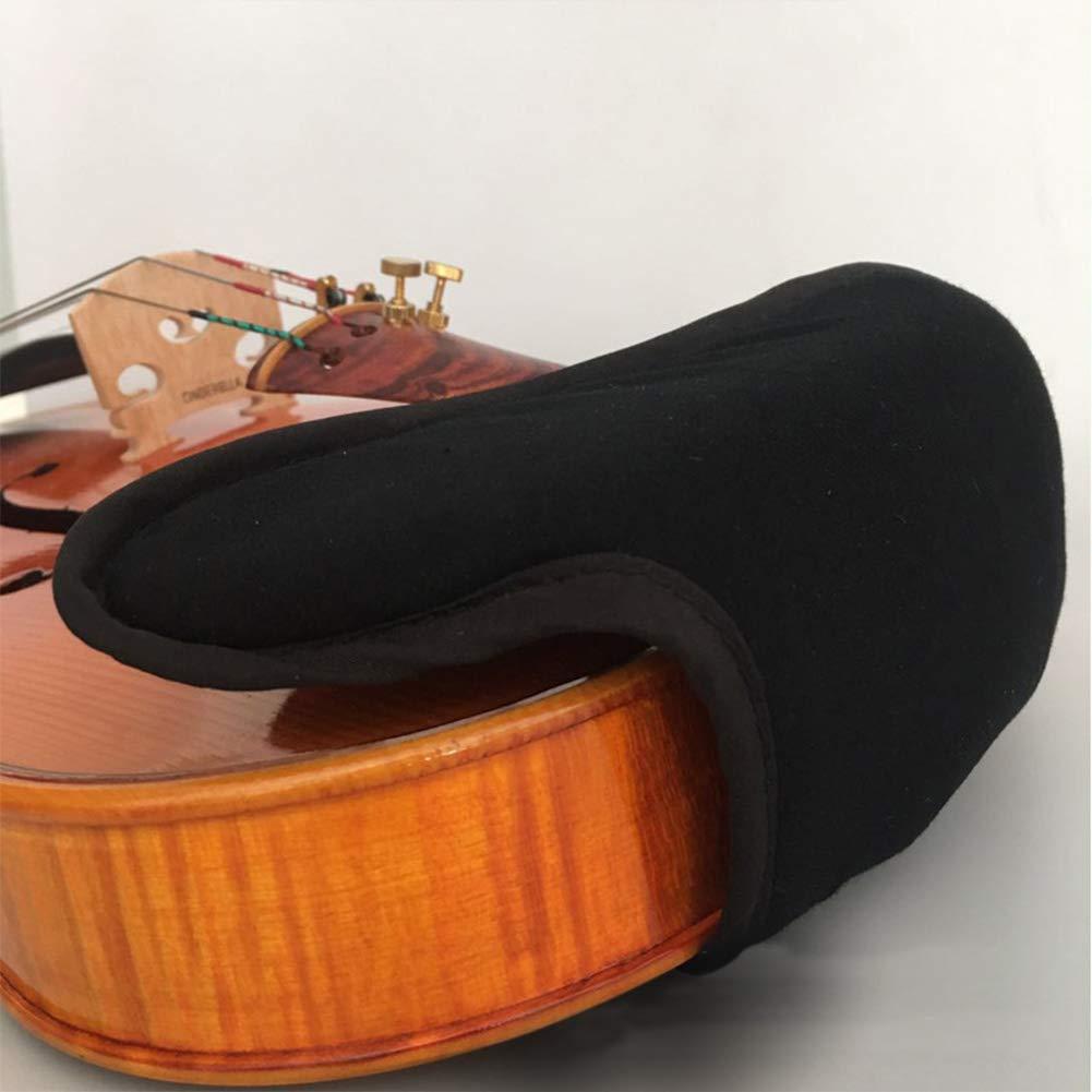 Rossa colorata protezione mentoniera per violino 1//4 1//8 1//2 3//4 4//4 Violino Fiddle Accessori