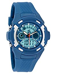 Men's Watches by Sportech - Digital Navy Water Resistant Sport Watch - Make Every Second Count - SP10614