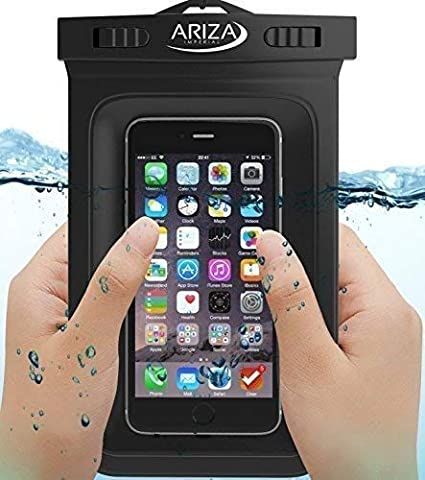 sale retailer 0638f b2aaa Universal Waterproof Pouch Case with Lanyard Strap for iPhone X, 8/7/7  Plus/6S/6/6S Plus, Samsung Galaxy S9/S9 Plus/S8/S8 Plus/Note 8 6 5 4,  Google ...