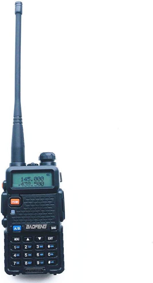 Radtel UV-5R Portable Radio Walkie Talkie Black Dual Band, FM, DTMF Coding, CTCSS Privacy Codes