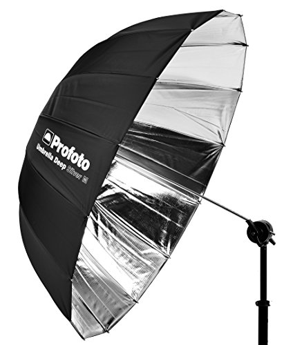 Profoto Deep Umbrella Silver - 41 Inch 100987 by Profoto