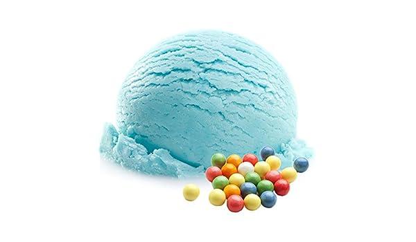 Bubblegum Blue Flavor 1 Kg Gino Gelati Ice Cream Powder para leche Helado Soft Ice Powder Ice Cream Powder: Amazon.es: Alimentación y bebidas