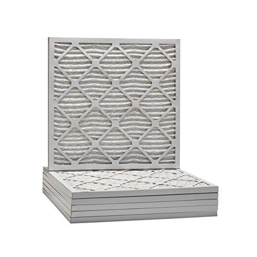 (Tier1 18x18x1 Merv 8 Pleated Dust & Pollen AC Furnace Air Filter 6 Pack)