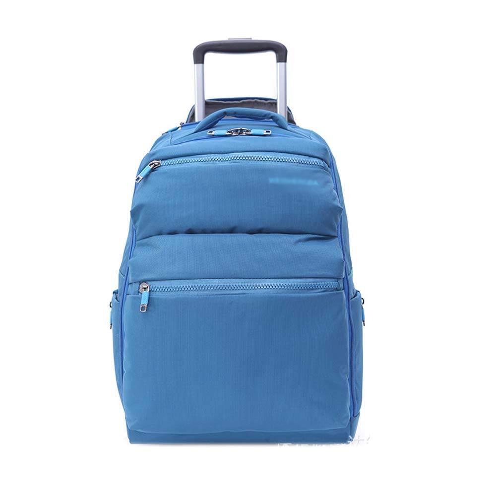 HUIFA ビジネスバッグのレジャー旅行のバッグのトロリーケースビジネスコンピュータのバッグのスーツケース20インチ 。 (色 : 青)  青 B07MW9PTQR