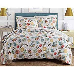 513Oj-%2BmAPL._SS300_ Coastal Bedding Sets & Beach Bedding Sets