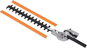 Hedge Trimmer Cutter 9 Teeth Universal Shrub Trimmer Adjustable Blades Tool 26mm for Gardening Yard Lawn Plants Bushes