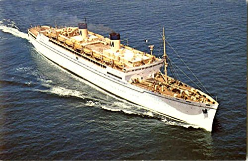 SS Lurline Boats Ships Original Vintage Postcard