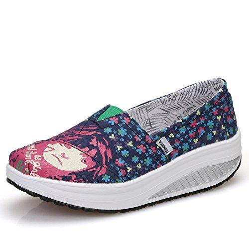 basse Donna Sneakers YORWOR 41 Espadrillas fiore PRwEETaq