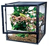 Penn Plax Screen Habitat HD Cage for Reptiles, 18 by 18 by 20-Inch