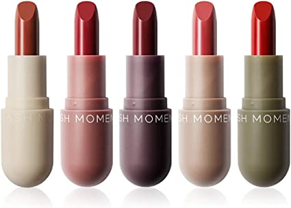 5Pcs Mini Capsule Lipstick Set Pretty