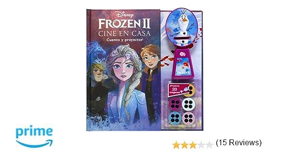 Frozen 2. Cine en casa: Cuento y proyector Disney. Frozen 2 ...