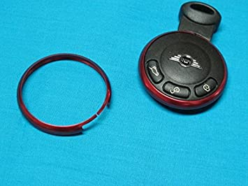 Carcasa de metal para llave, color rojo, pieza de repuesto ...