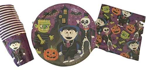 Halloween-Party-2-matching-cups-plates-napkins