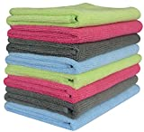 Sinland Microfiber Towel Car Wash Cleaning Auto Detailing Kitchen Cleaning Cloths 320gsm