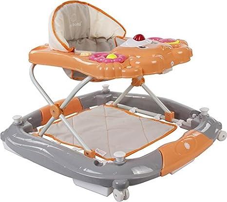 Sun Baby Bear - Andador para bebé, color naranja y gris ...
