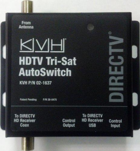 KVH HDTV Tri-Sat AutoSwitch Directv 02-1637 Control Module