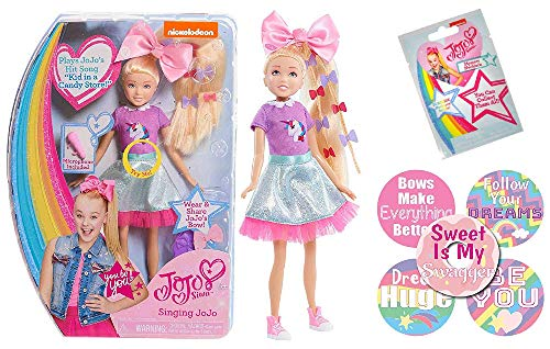 JoJo Siwa Doll Collection Bundle for Girls (JoJo Siwa Singing Doll: