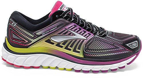 c2330153c4 Brooks Women's Glycerin 13 Running Shoe - Black/hyacinth Violet/virtual  Pink - 9