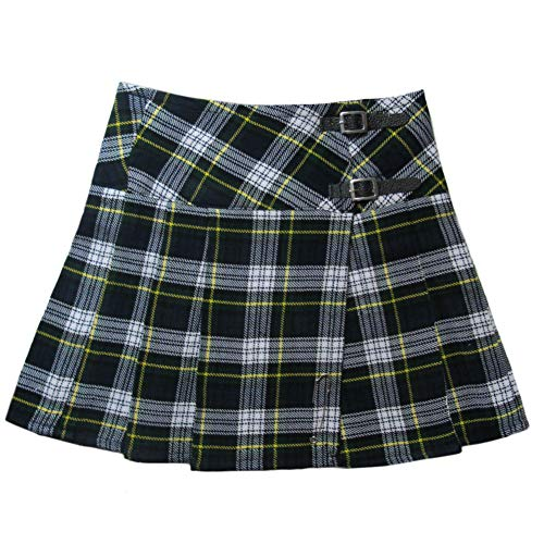 Tartanista Womens 20 Inch Tartan Pleated Kilt Skirt Dress Gordon 6 US