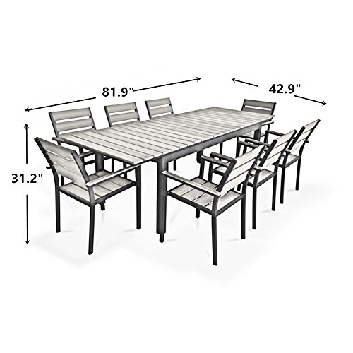 Grand Patio Deluxe Rectangular Patio Table Cover, Weather ...