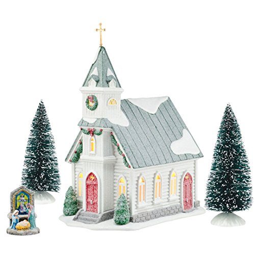 Department 56 First Frost Cedar Isles Church Nativity Figurine Set 4054979 New