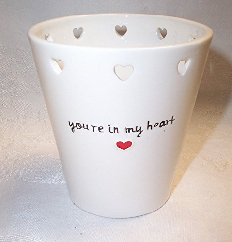 - Russ Love Message Container Vase You're In My Heart