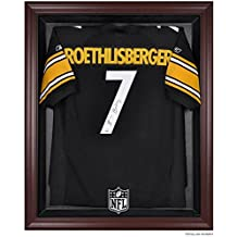 Mounted Memories NFL Mahogany Frame Jersey Display Case - NFL Logo One Size