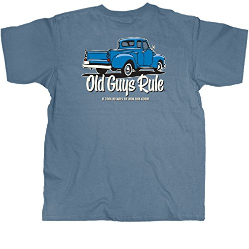 Old Guys Rule Mens It Took Decades T-Shirt XX-Large Lake