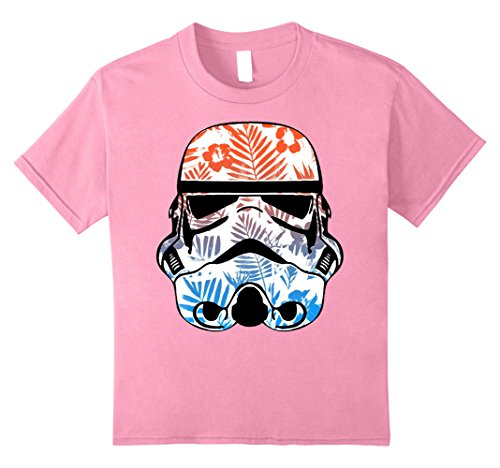 Kids Star Wars Paradise Floral Palms Stormtrooper Helmet ...