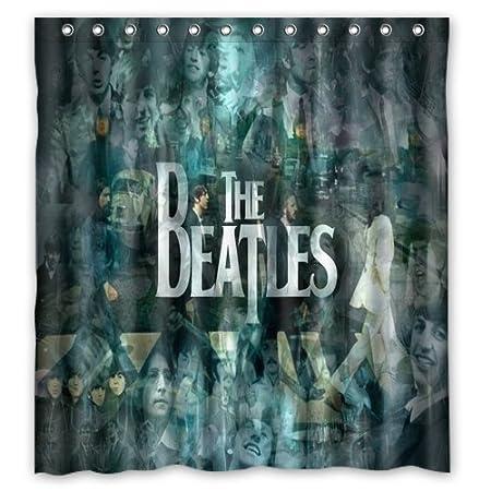 66 U0026quot;x72u0026quot; The Beatles Shower Curtain The Beatles 66 U0026quot;x72u0026quot;