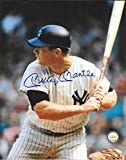 Mickey Mantle New York Yankees Autographed Signed 8 x 10 Photo -- COA - (Near Mint Condition)