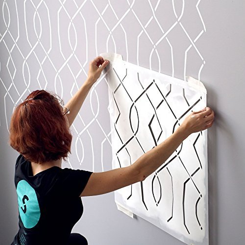 Moorish Trellis Large Wall Stencil for Painting - Large Size 24