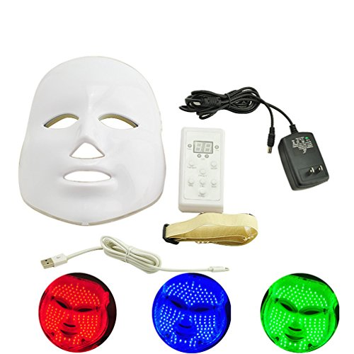Pevor 3D Photon Therapy Led Mask Facial Skin Care Treatment Machine Rejuvenation Beauty Therapy 3 Colors Skin Care Mask Device by Pevor