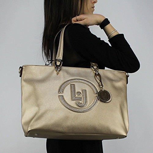 Borsa Donna Shopping | Liu Jo Colorado | N18212E0037-Gold