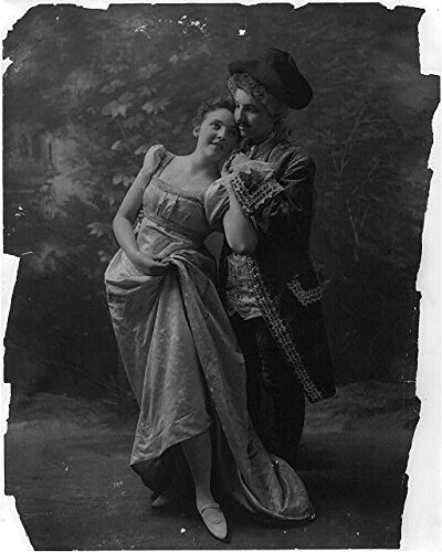 [Photo: Couple in dance costumes,Fitz Guerin,Dancing,Courtship] (Couples Dance Costumes)