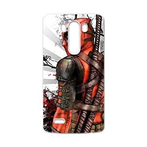 Happy Deathlok red blood warrior Cell Phone Case for LG G3