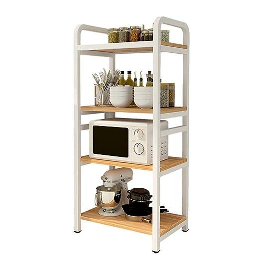 Bjia Estante para horno de microondas de cocina de pie, estante ...