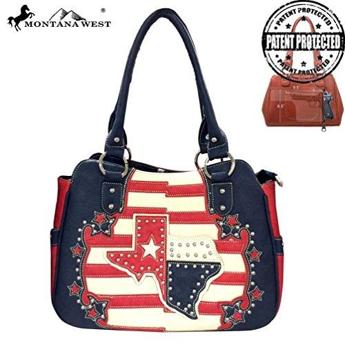 TX-8350T Texas Pride Collection Handbag