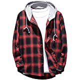 WEEN CHARM Men's Military Cotton Jacket...