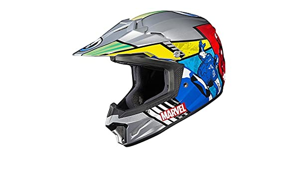 Amazon.es: Casco cl-xy 2 Marvel Comics Los Vengadores jóvenes casco de Motocross