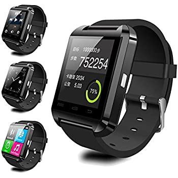 Amazon.com: Bluetooth Smart watch U8 Smart Watch for iPhone ...