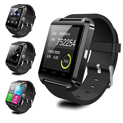 Amazon.com: Bluetooth Smart watch U8 Smart Watch for iPhone ...