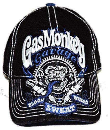 Garage Hat - Gas Monkey Garage Ball Hat Adjustable Back