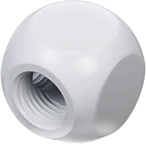 "Barrow G1/4"" 3-Way Ball Fitting, White"
