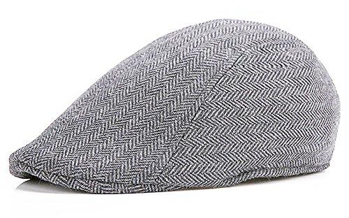 Herringbone Tweed Newsboy Cabbie Driving product image