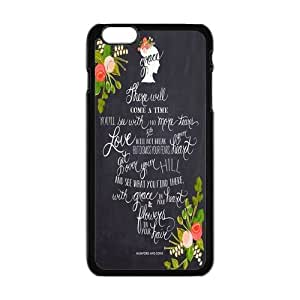 """Danny Store Hardshell Cell Phone Cover Case for New iPhone 6 Plus (5.5""""), Mumford and Sons Quote"""
