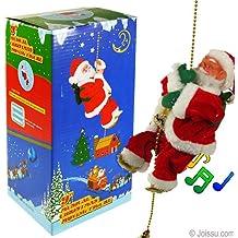 Climbing Santas w/ Music