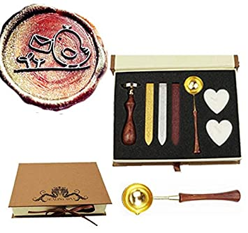 Amazon.com: MNYR - Kit de sello de cera de pájaro con sobre ...